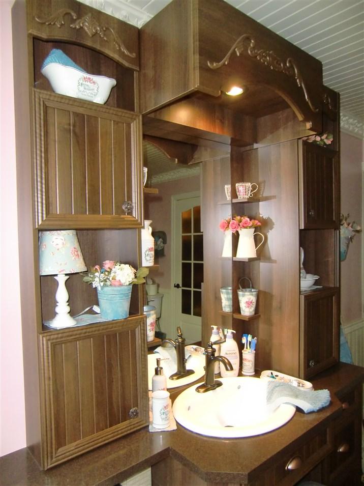 R alisations de style champ tre sp cialit m m for Insectes rampants salle de bain
